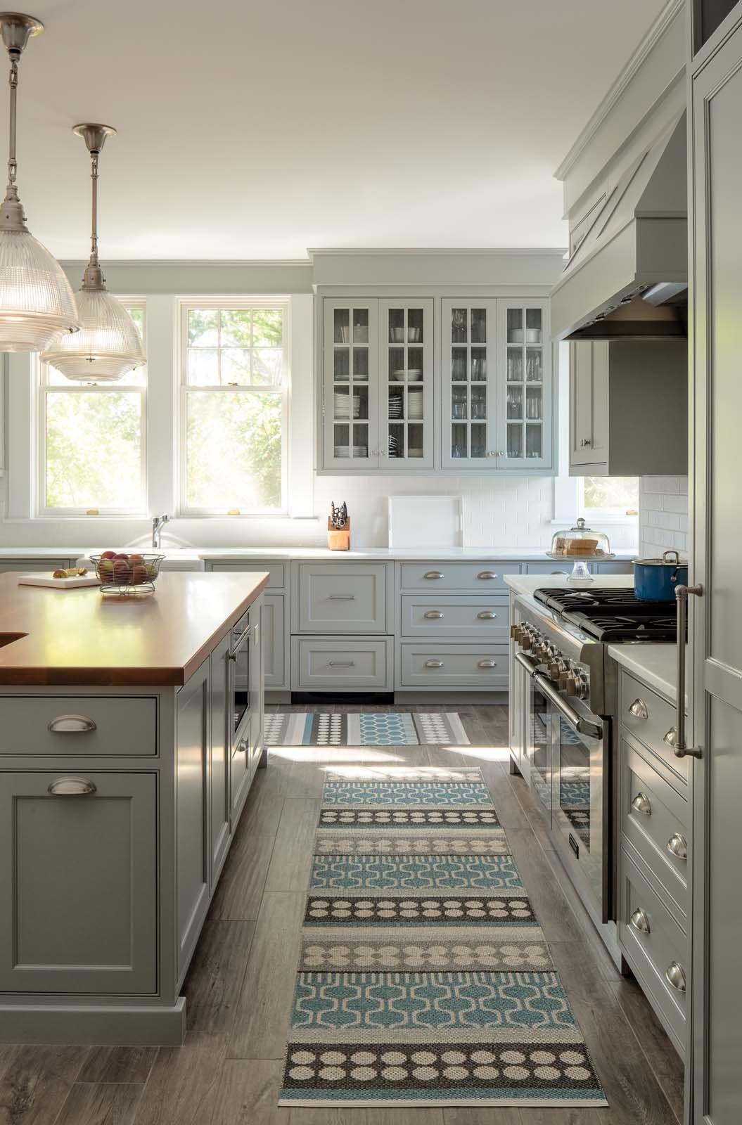 kitchen archives - maine home + design | open plan kitchen