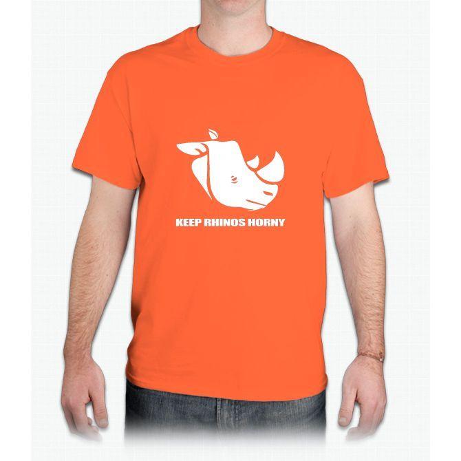 keep rhinos horny - Mens T-Shirt