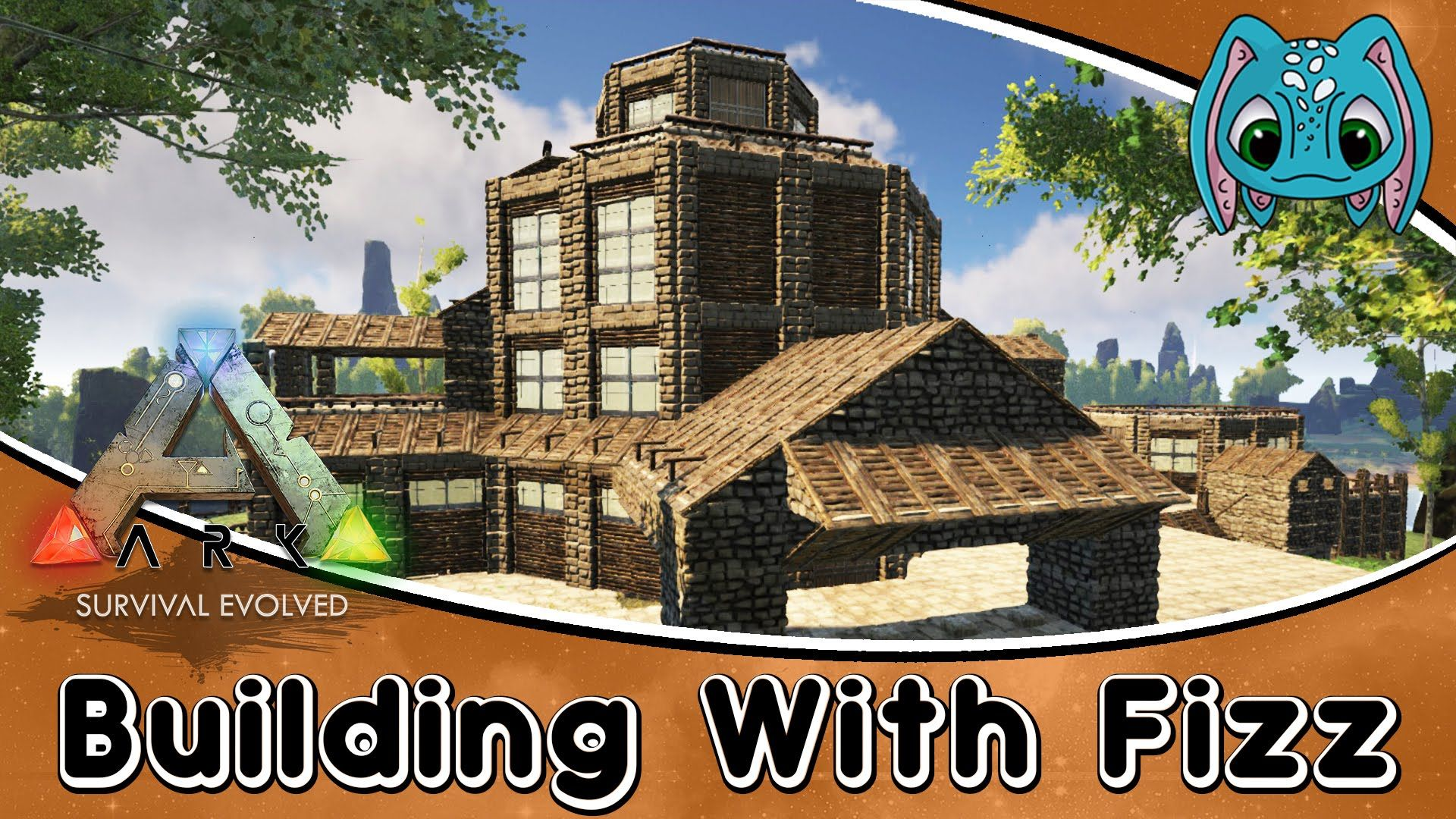 ARK:Survival Evolved Building w/ Fizz :: PVE Base Build Idea