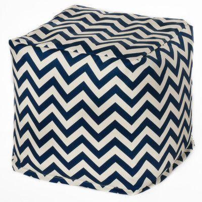 OC Fun Saks Chevron Bean Bag Chair Upholstery