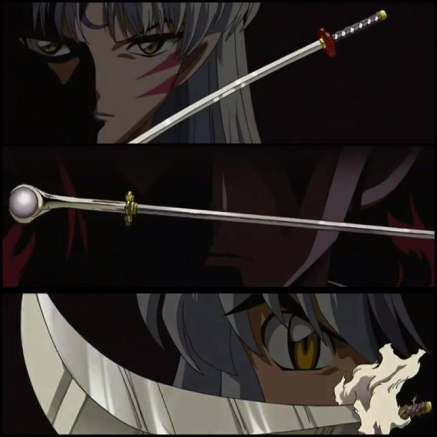 Tenseiga Sesshomaru Sounga Their Dad Tetsusaiga Inuyasha