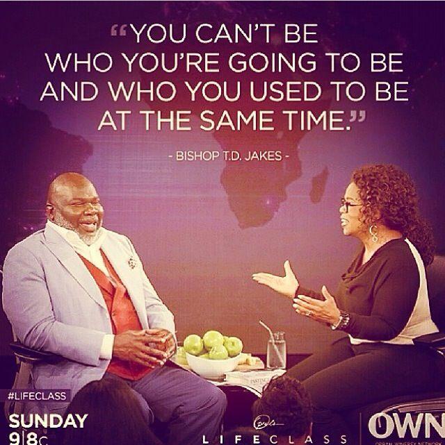 T D Jakes Quotes: Citations - Oprah Winfrey