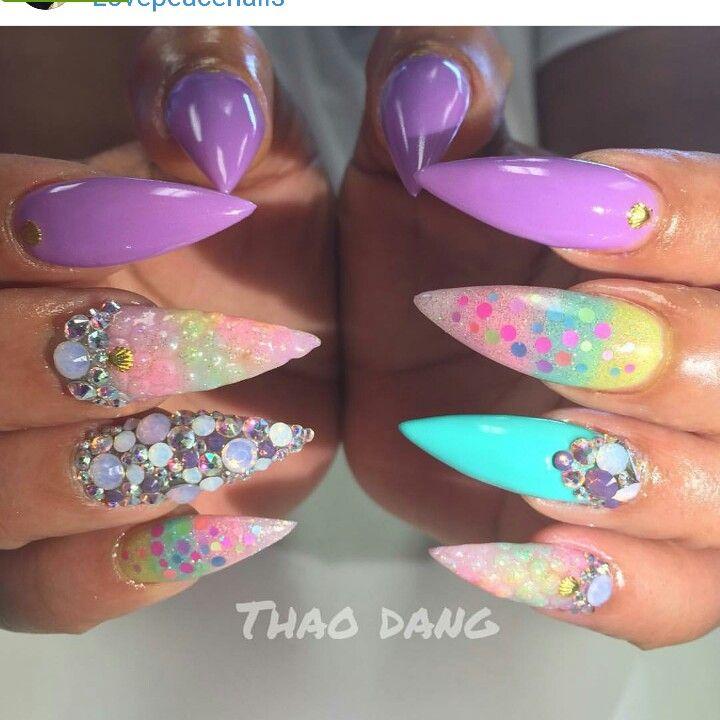 Pin by Petra Zippa on NAILS   Pinterest   Hot nails, Fabulous nails ...