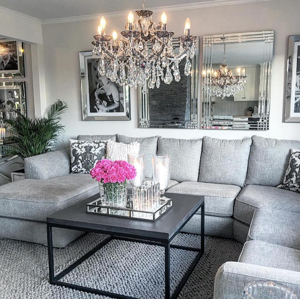 Modern Glam By Home By Matilde Roomies Home