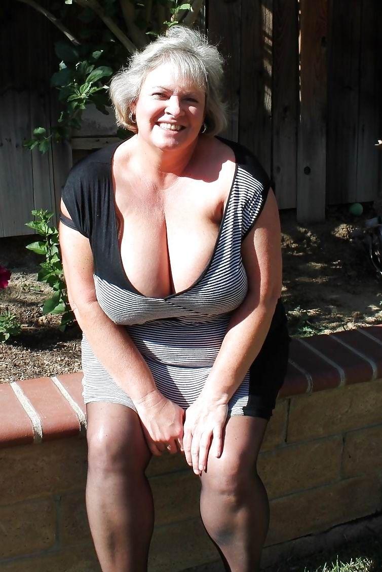 sexy curvy granny
