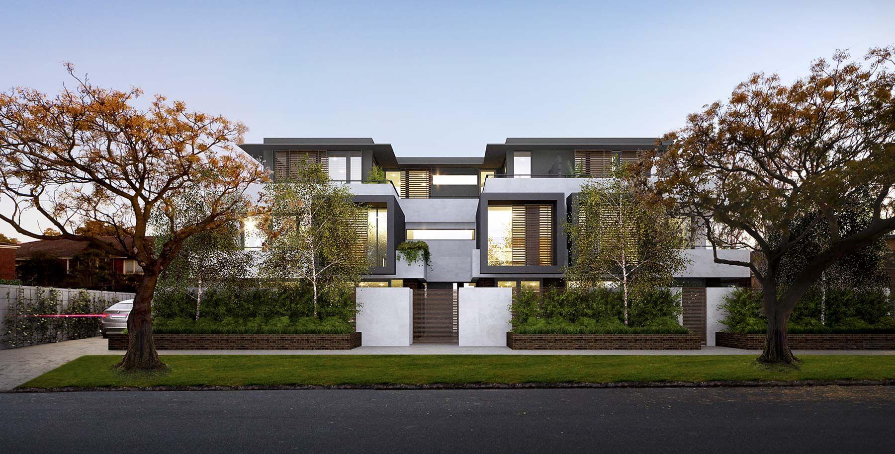 Leopold Stonnington Architecture, House styles, Villa
