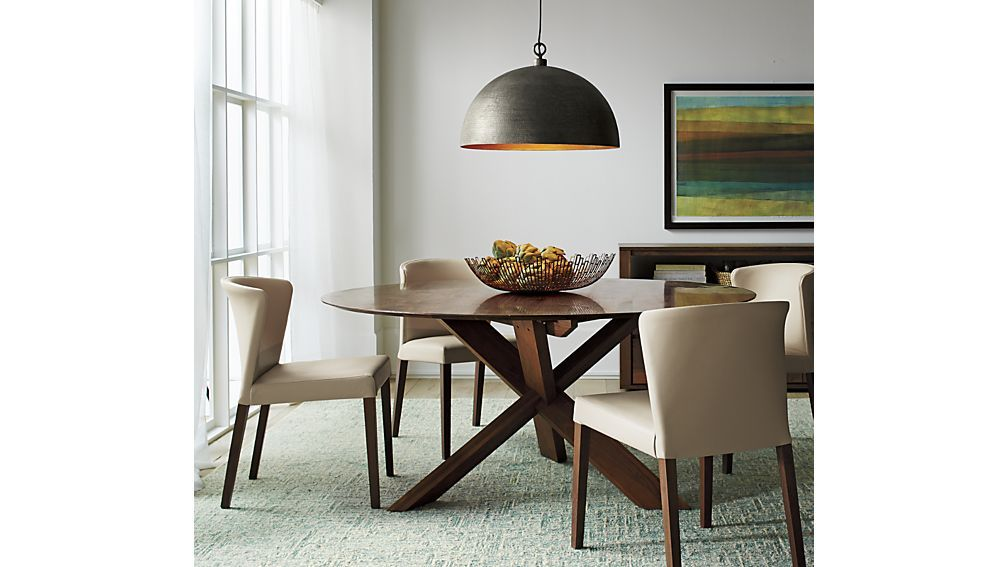 Apex 64 Round Dining Table Kitchen Table Settings Low Back