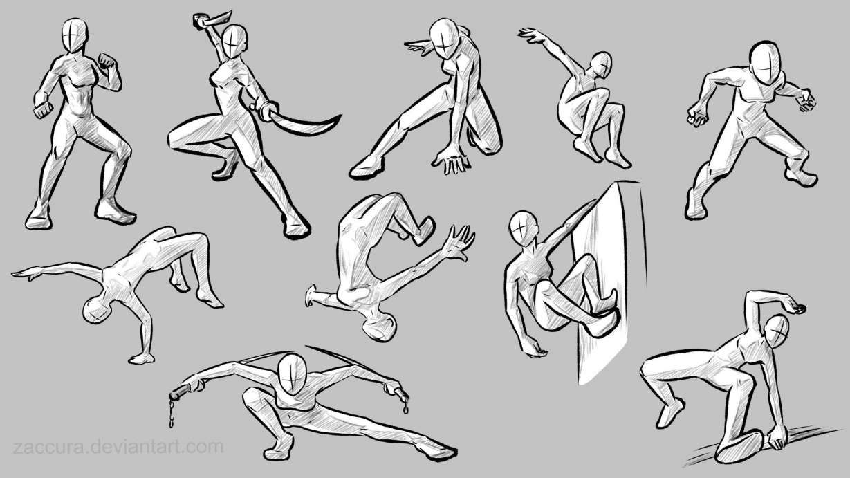 10 Images Anime Action Poses In 2020 Anime Poses Reference Art Reference Photos Art Reference Poses