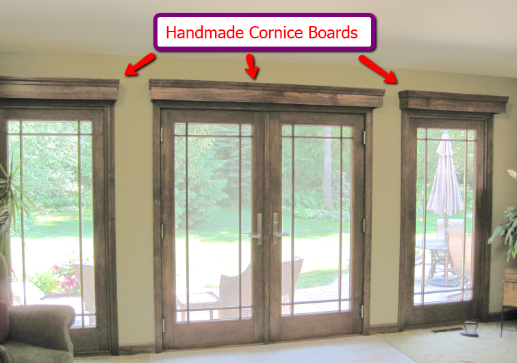 Window treatments for french doors window treatments for French doors with windows on each side