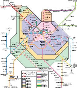 MAP OF TRAINE LINES AND DESTINATIONS BRADFORD maps Pinterest