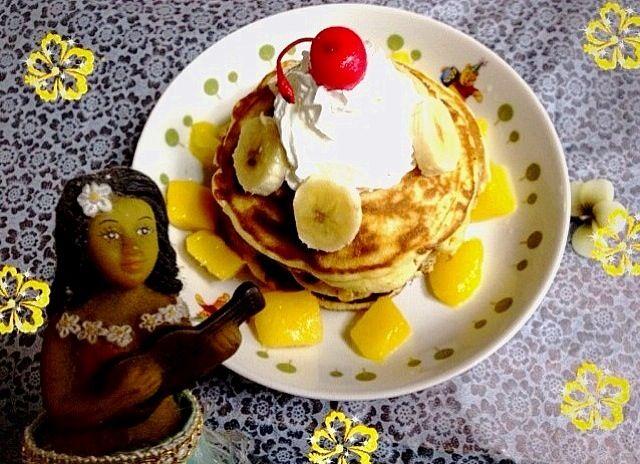 レモン果汁入れてますが、少な過ぎたのか風味がなく。。 - 31件のもぐもぐ - Hawaiianのつもりパンケーキ! by katy
