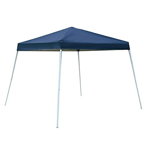 Tangkula 10X10 EZ POP UP Tent Gazebo Wedding Party Canopy Shelter Carry Bag Blue --  sc 1 st  Pinterest & Tangkula 10X10 EZ POP UP Tent Gazebo Wedding Party Canopy Shelter ...