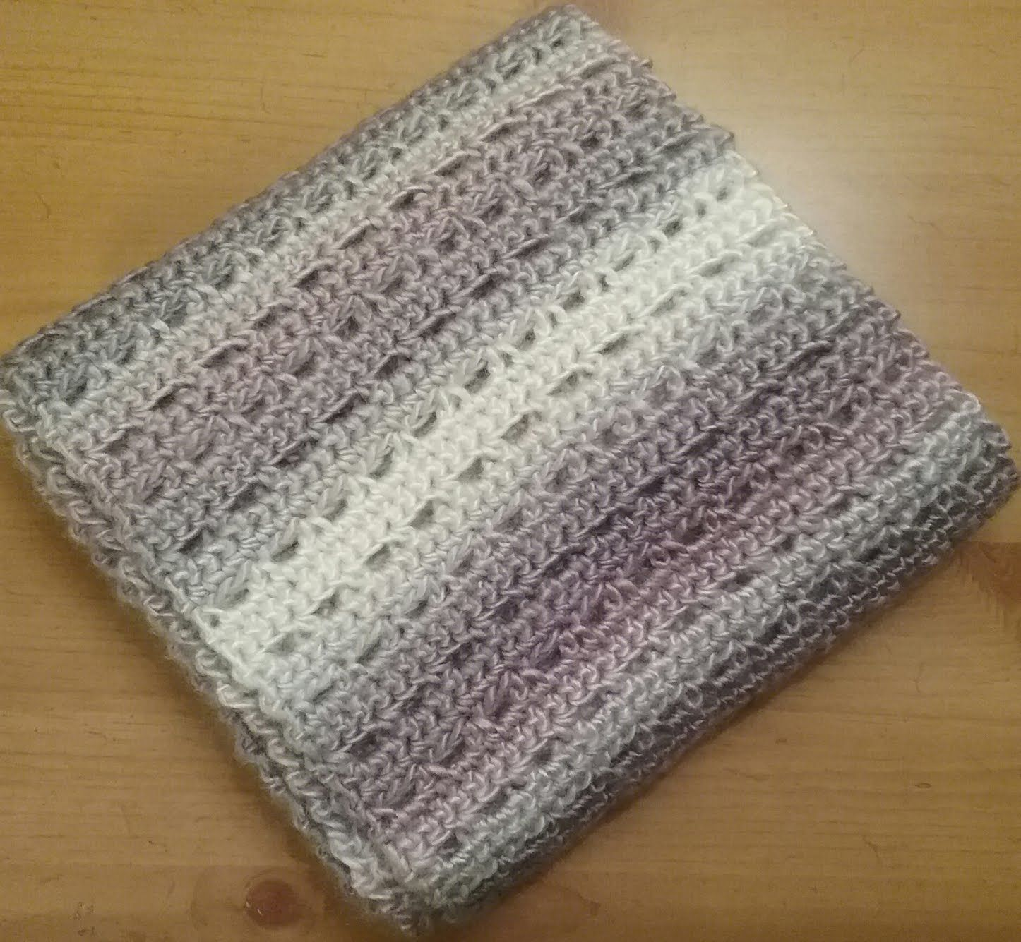 Sandscapes Scarf Crochet Pattern ©2017 Amanda Bryant Materials: 2 ...