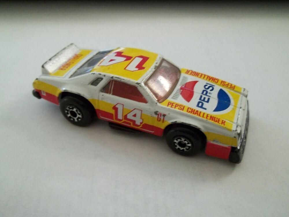 1980 MATCHBOX car SuperFast CHEVY PRO STOCKER no 34 PEPSI
