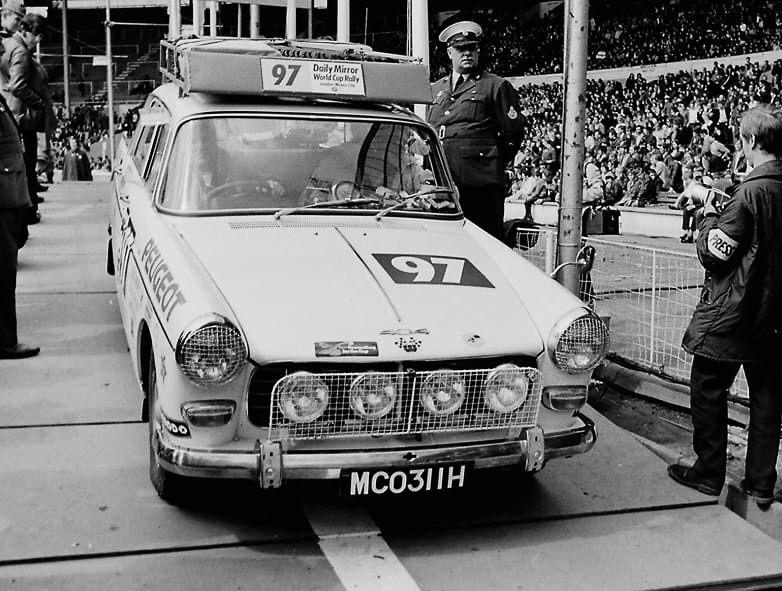 Pin de Jason Chinn en 1970 World Cup Rally, LondonMexico