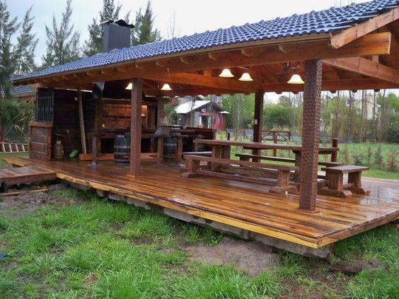 Tipos de pérgolas y porches para jardines o terrazas - Interiorismo Madrid