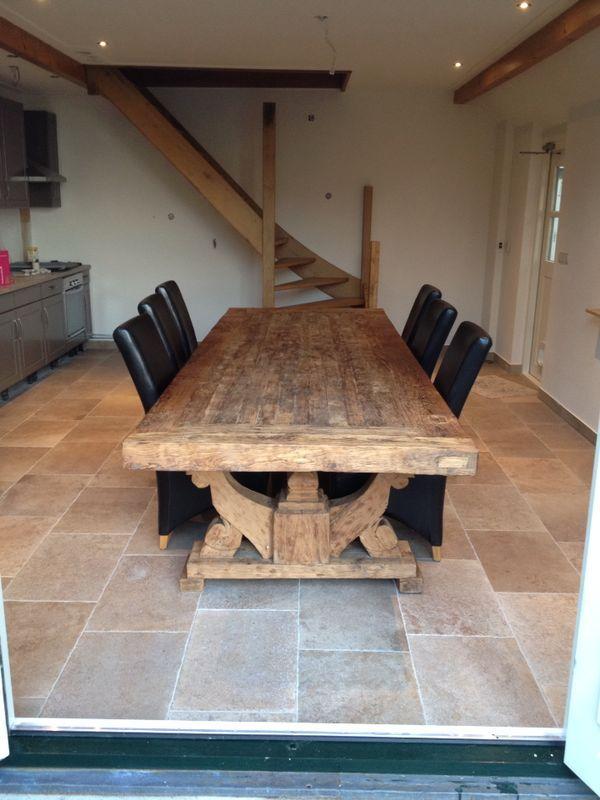 Kasteelvloer in 40x60 in de woonkeuken (48-DD, keramische ...