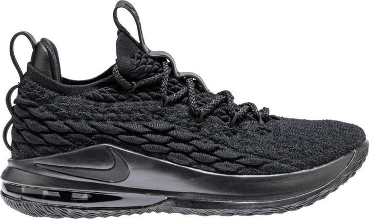 watch 58760 379da Nike LeBron 15 Low Blackout | Products | Sneakers nike, Nike ...