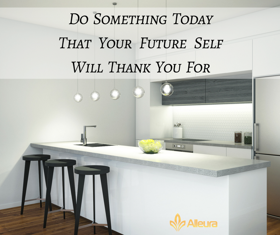 What will you do today that your future self will thank you for?