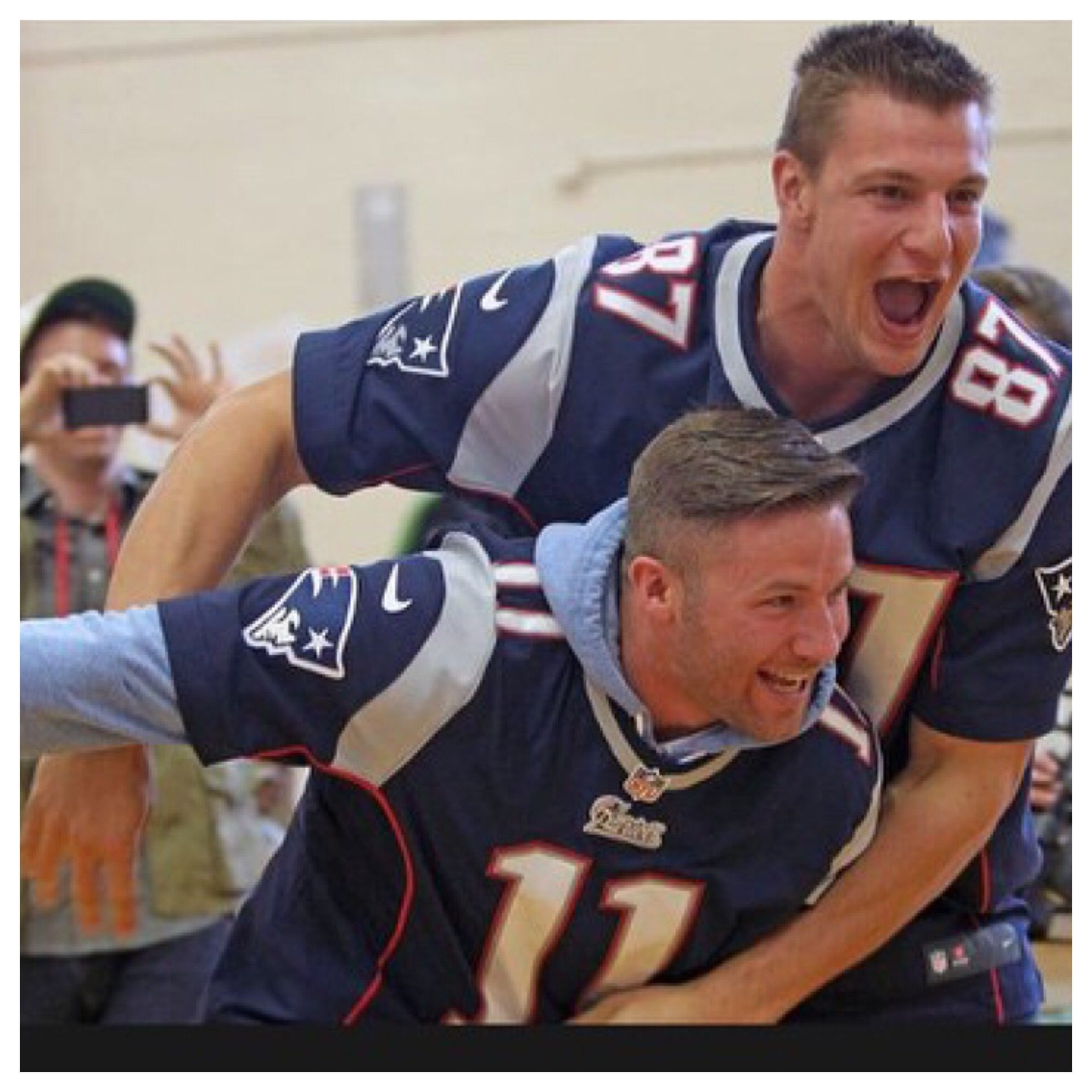 Rob Gronkowski Julian Edelman Patriots New England Patriots Football New England Patriots Julian Edelman