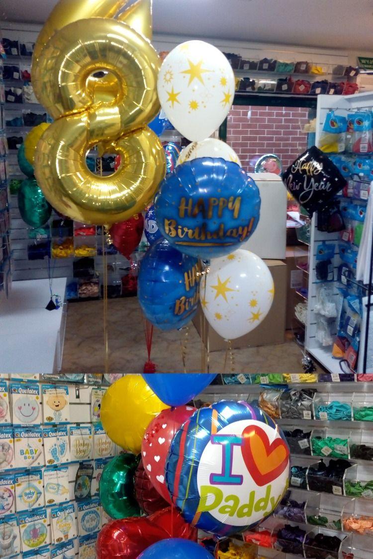 Balonowy Zestaw Urodzinowy Dla Kochanego Taty Na 48 Urodziny