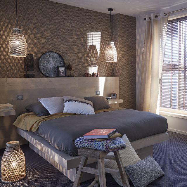 Luxe, calme et volupté pour cette chambre aux influences des îles du - quelle couleur mettre dans une chambre