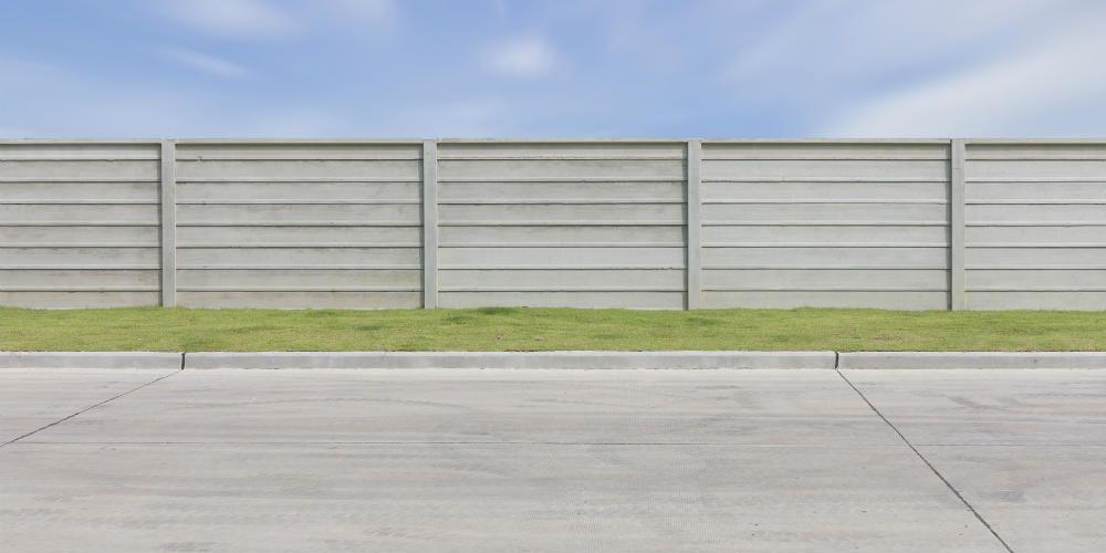 Prix et pose du0027une clôture béton