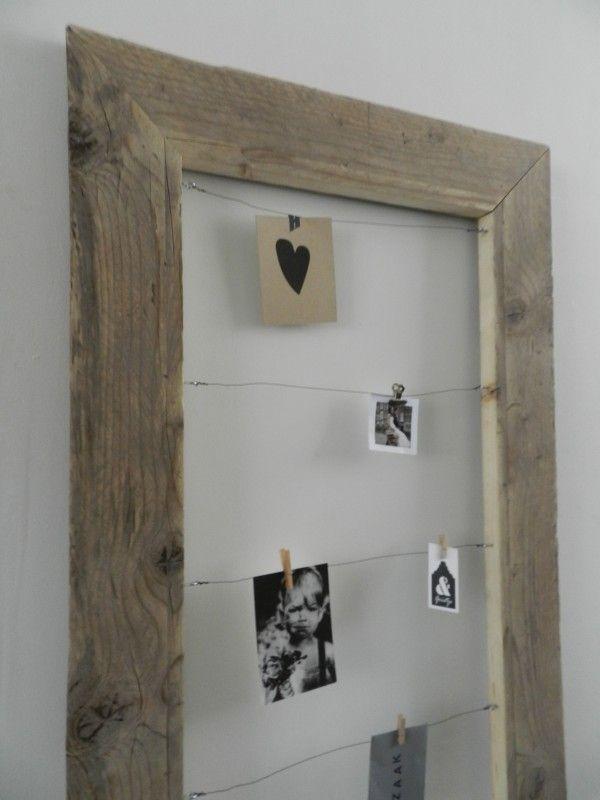 Lijst voor foto s en kaarten m 120 cm x 70 cm for Lijst inrichting huis