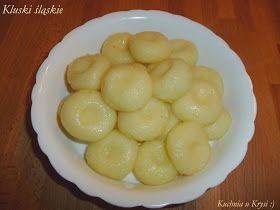 Kluski śląskie - doskonałe, kluski śląskie, Kuchnia u Krysi,