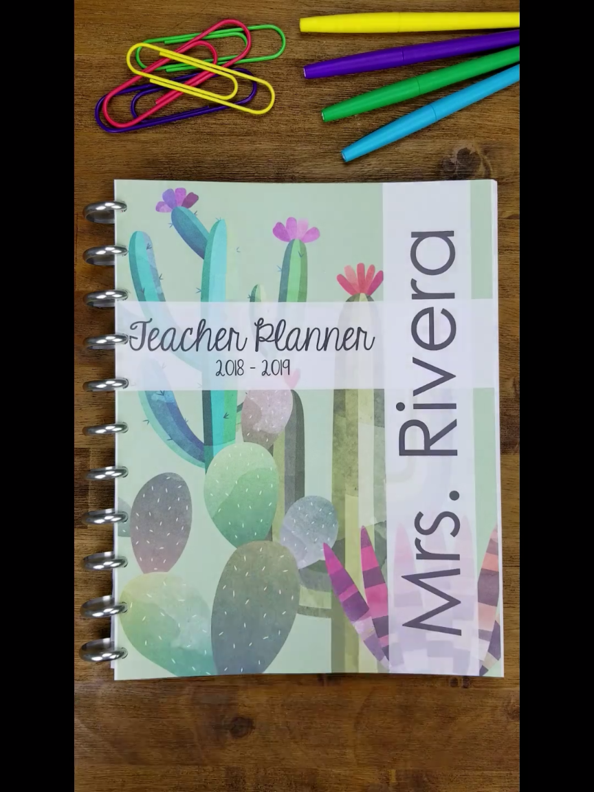 Teacher binder organization just got better! With FREE UPDATES for LIFE, this One Stop Teacher Binder has everything you need for classroom organization. This teacher planner has lesson plan templates, 70+ planner covers to choose from, lots of classroom forms, calendars, and more! Love that it is EDITABLE with FREE updates for LIFE! Teacher Plan Book | Classroom Organization | Lesson Plan Templates | Teacher Planner Covers | Google Drive Teacher Planner | Google Drive Lesson Plan Templates #tea #teacherplannerfree