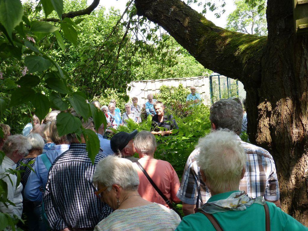 """Kathrin Kocks Gartentour """"Mecklenburger Gärten"""": Gartenführung im Garten…"""