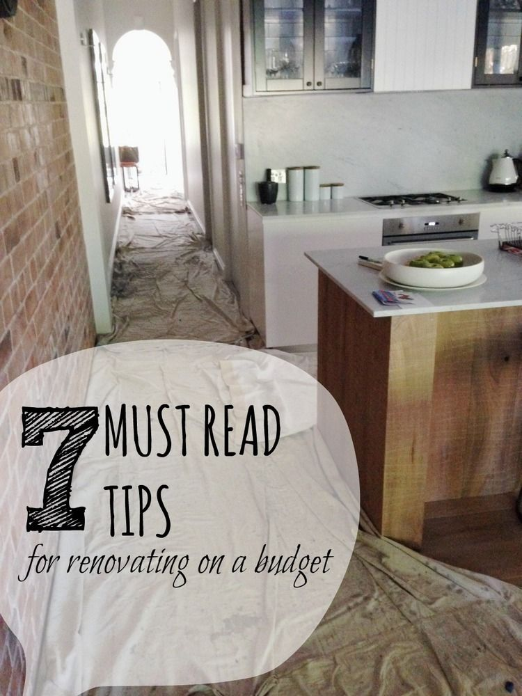 7 tips for renovating your house on a budget Budgeting, Corner and - renovations on a budget
