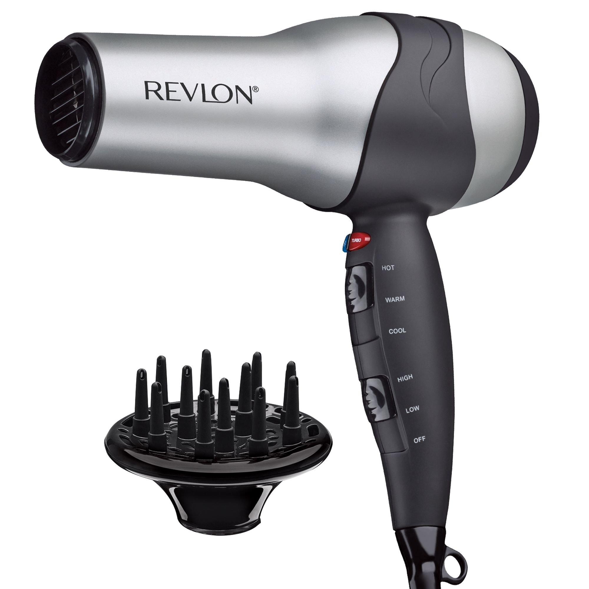 Revlon Hair Dryer 1875W Turbo Styler 3 Heat/2 Speed