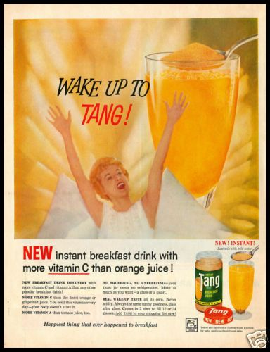 1959 vintage ad for Tang breakfast drink | magazine ads ...