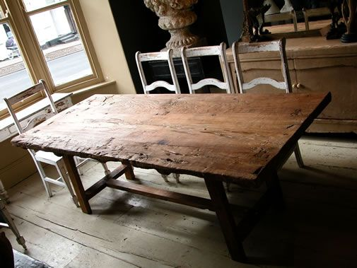 Kitchen Tables Ottawa Plank table made from antique elm door style the home find a job buy a car find a house or apartment furniture appliances and more workwithnaturefo