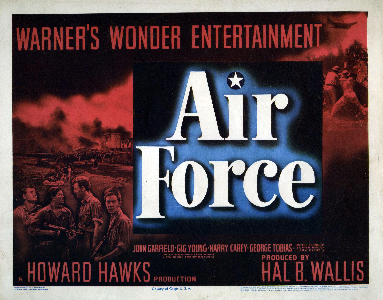 War Movie : Air Force 1943 ( Full Film )