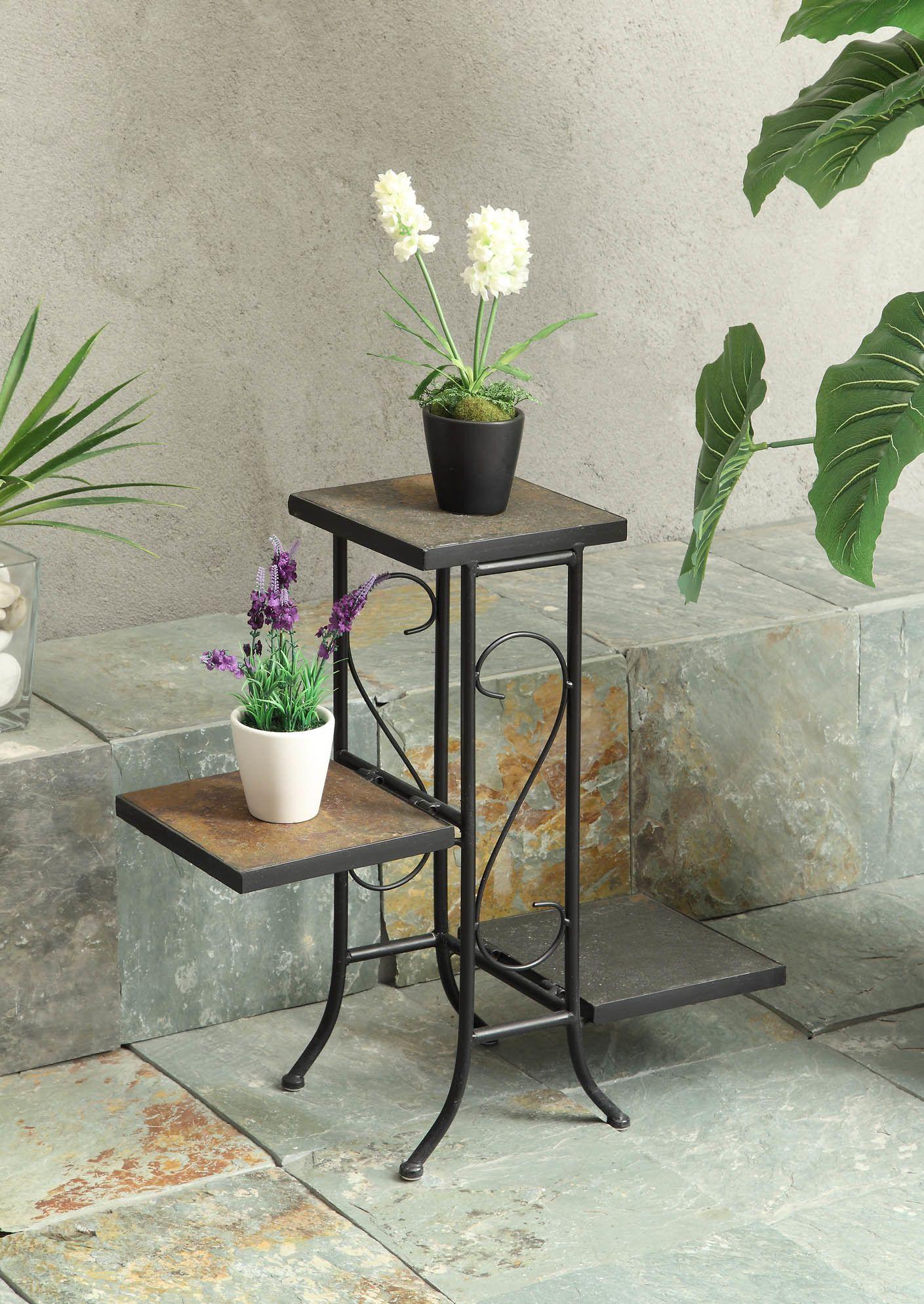 Attractive 4D Concepts 3 Tier Square Planter Stand U0026 Reviews   Wayfair