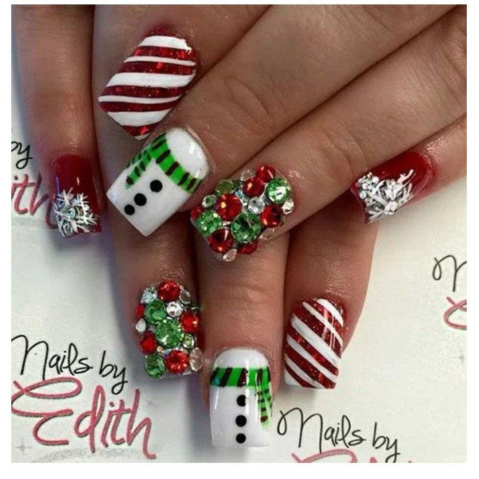 Festive And Fabulous Christmas Nail Art Designs All About Design Salon Irvine Newport Beach
