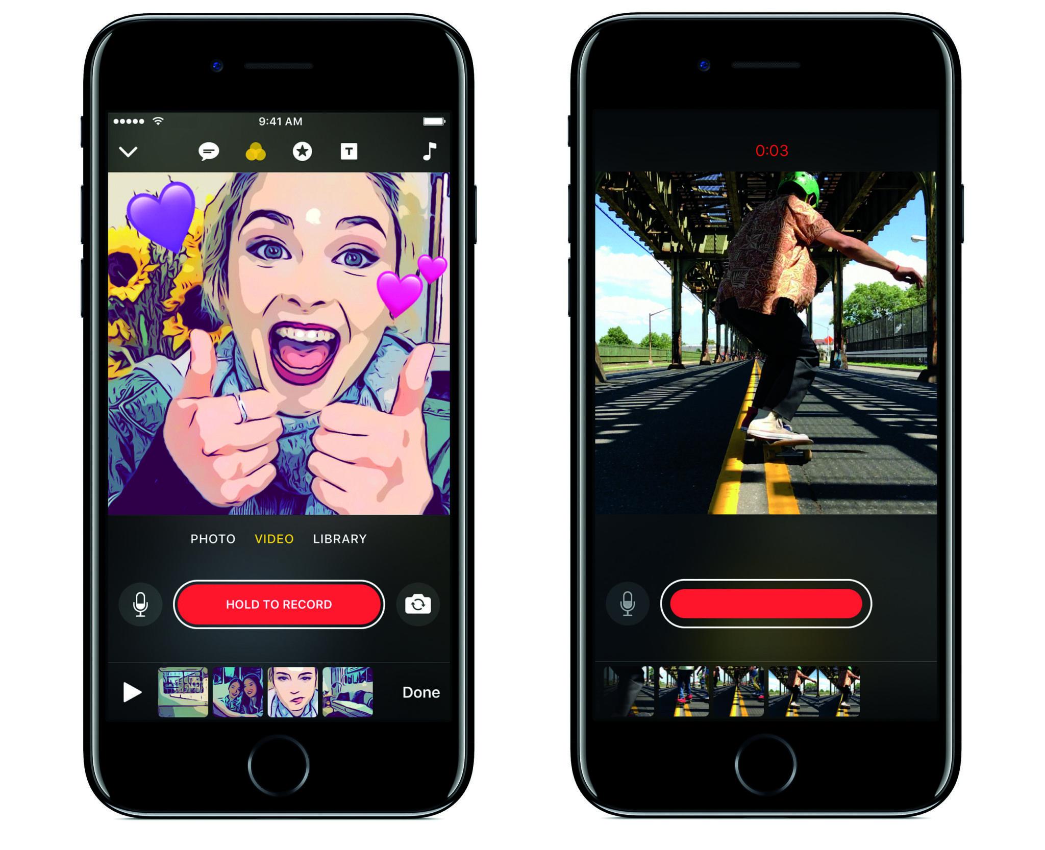 приложение на айфон для объединения фото них можете видеть