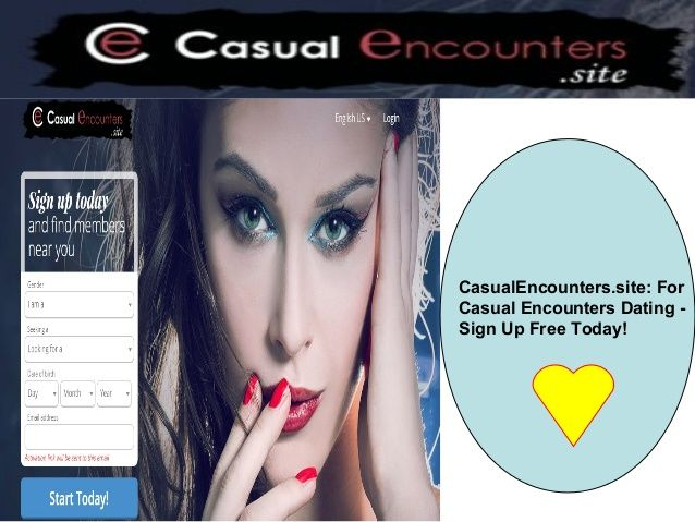 Free casual encounter sites