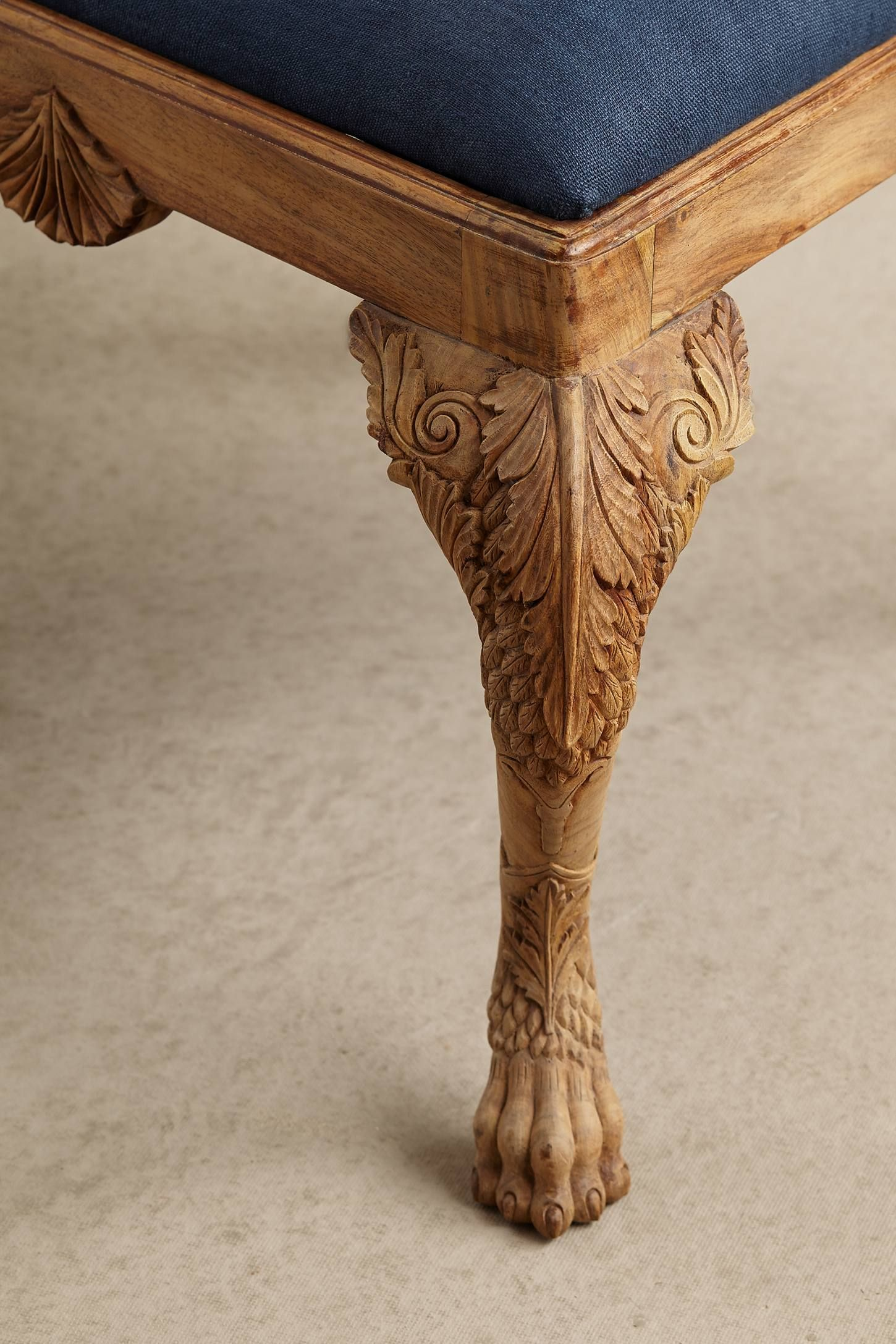 Handcarved Menagerie Dining Table Dining Chairs Carved