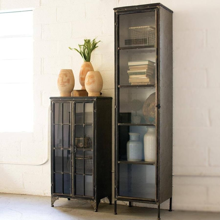 Beatrice Cabinet Ii Apothecary Cabinet Metal Display Cabinet