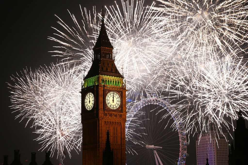 Watch London New Year S Eve Fireworks 2014 Highlights Video New Year S Eve In London London Fireworks Celebration Around The World