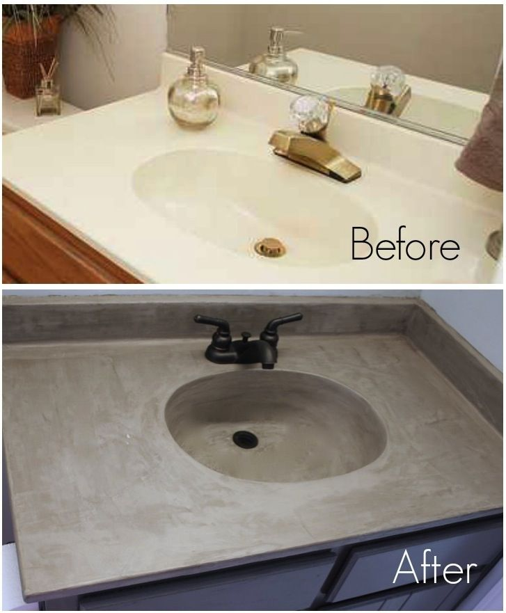 The Snug Is Now A Part Of Diy Concrete Countertops