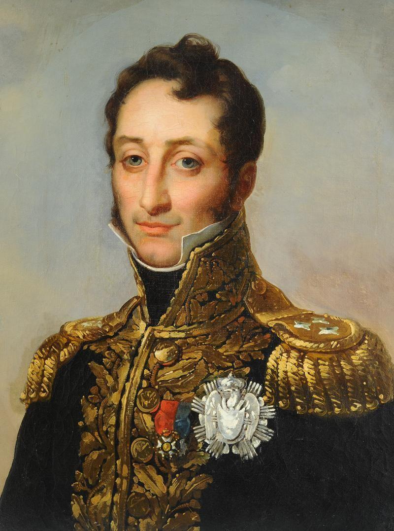 General Armand Augustin Louis De Caulaincourt Napoleonic Wars Hussar Empire