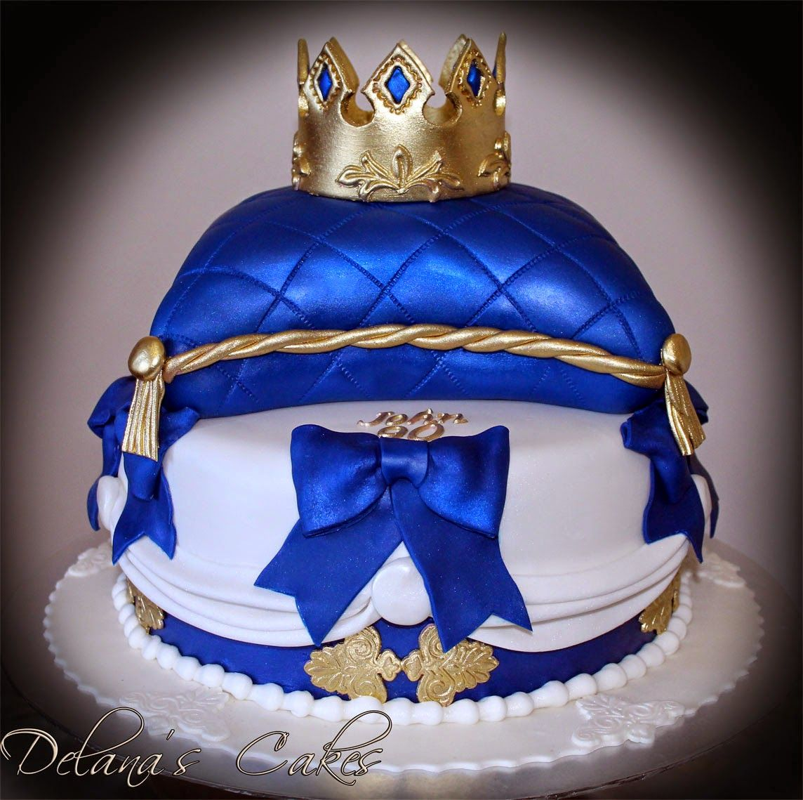 Royal Themed Cake By Delana's Cakes