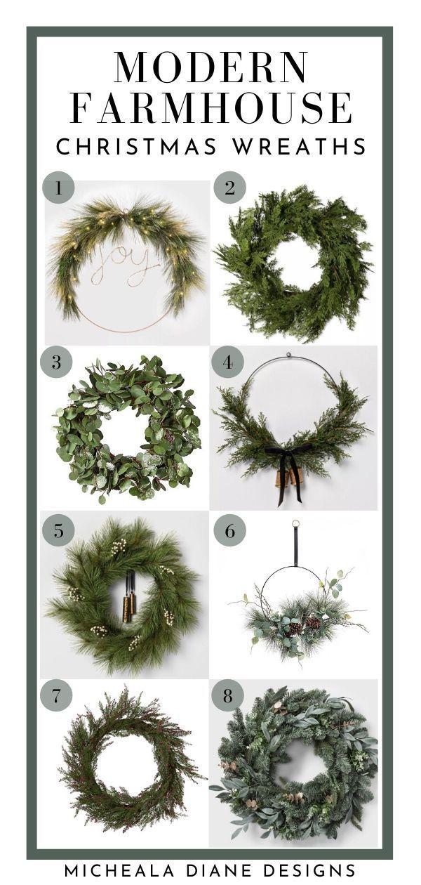 Photo of Modern Farmhouse Christmas Decor Shopping Guide