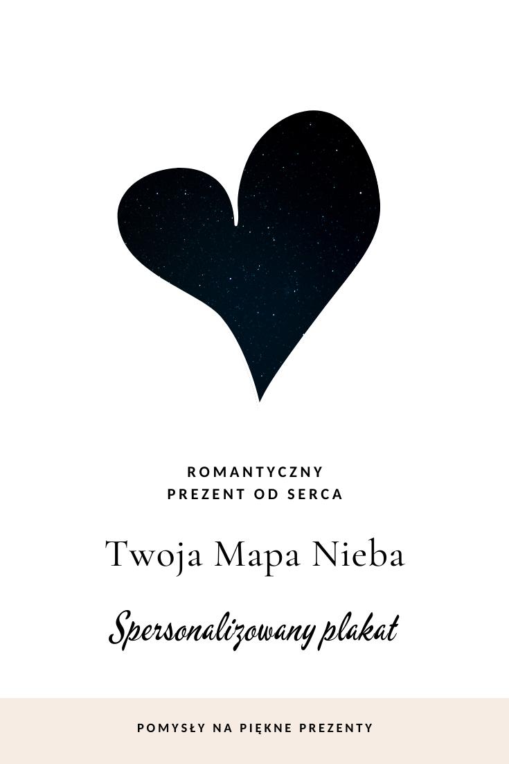 Romantyczny Prezent Mapa Nieba Z Wasza Wyjatkowa Data Poster Movie Posters
