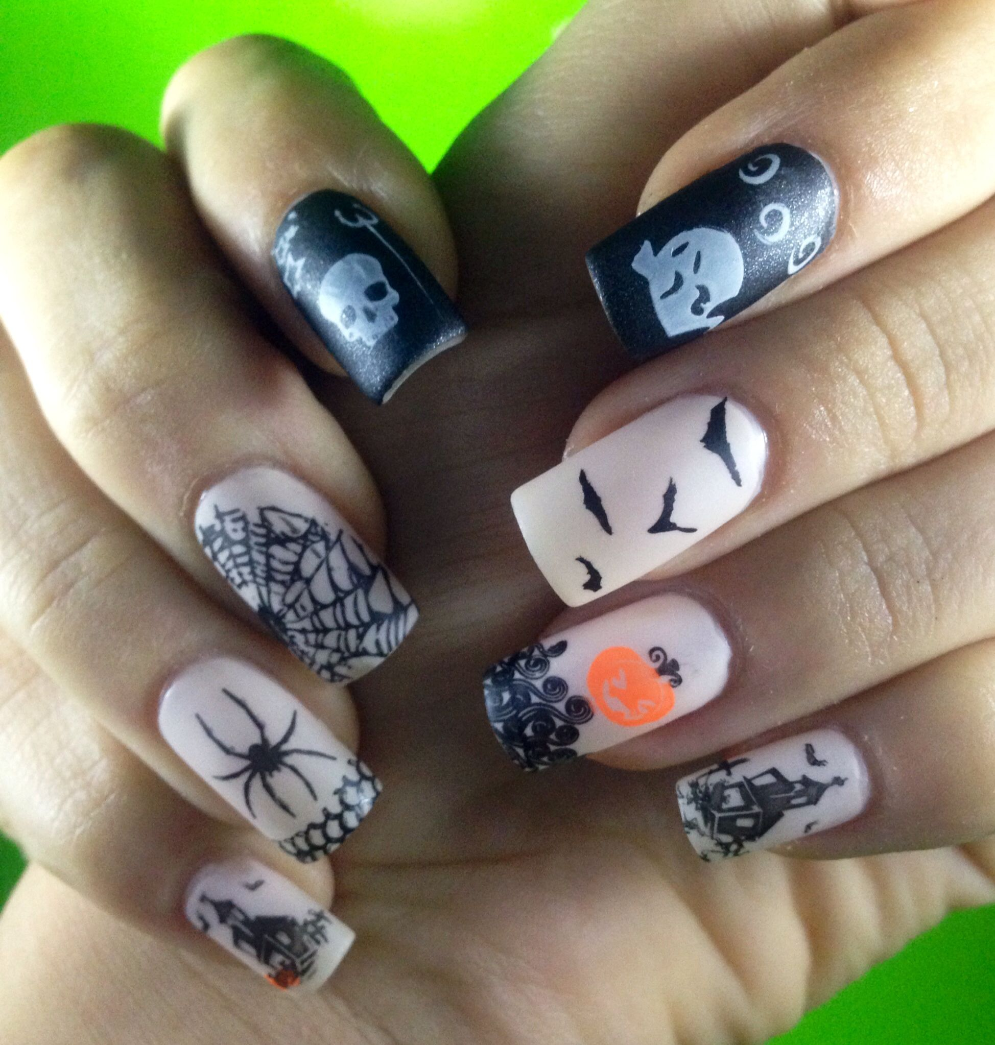 Bundle monster Halloween 2013 | Halloween nails, Nails ...