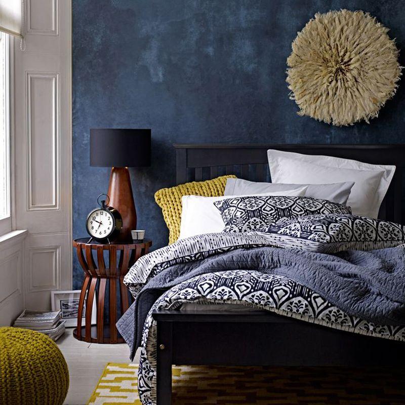 blauw bruine slaapkamer - Google zoeken | Slaapkamer | Pinterest ...